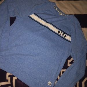 Vs PINK Blue Long Sleeve